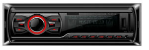 CE Certificate One DIN Car MP3/USB Player with Fixed Panel pictures & photos