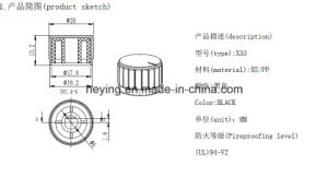 Alumium Control Knob Mixer Potentiometer Knob pictures & photos