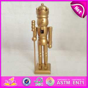 2015 Handmade Wooden Toy Nutcracker Dolls, Hot Sale Mini Solider Nutcrackers Doll for Kids, Cheap Nutcracker Solider Gift W02A074A pictures & photos