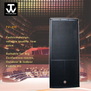 Touring Outdoor Sound Reinforcement Dual 15inch Loudspeaker