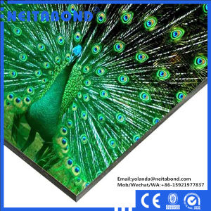 3mm 4mm Both Sides UV Digital Printing Bendable Aluminum Composite Panel for Signage pictures & photos