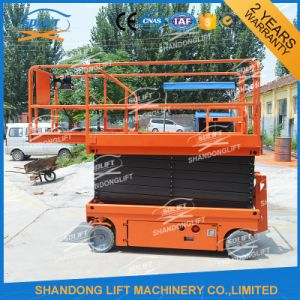 China Hydraulic Self Propelled Outdoor Electric Man Lift Ladder pictures & photos