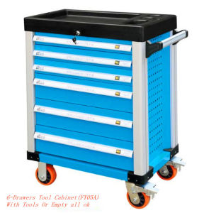 6 Drawers Trolley Tool Cabinet with Good Quality Roller. pictures & photos