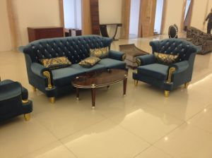 Luxury Hotel Sofa/Luxury Hotel Sitting Room Sofa/European Style Hotel Sofa (GLNS-0101) pictures & photos