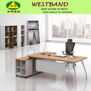 2015 New Design Modern Cheap Alloy Wooden Computer Desk (WB-Kate)