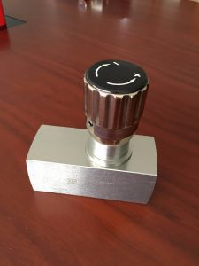 High Pressure Carbon Steel Throttle Valve pictures & photos