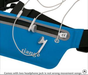 Outdoor Running Waterproof Reflective Zipper Waist Phone Bag pictures & photos