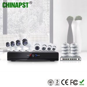 High Quality HD P2p 8CH NVR IP Camera Kit (PST-IPK08B) pictures & photos