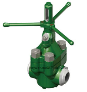 API 6A Mud Valve (welded end) Used in Oil Field pictures & photos