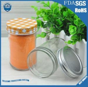 180 Ml Caviar, Jam and Pickles High -Grade, Lead-Free Glass Jar