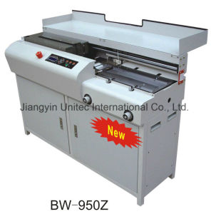A4 Book Binding Machine Semi- Automatic Perfect Binder Bw-950z pictures & photos