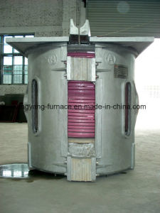 2t Intermediate Frequency Electric Induction Melting Furnace for Steel pictures & photos