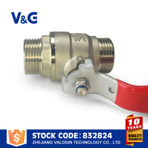 Valogin Lever Handle Brass Ball Water Valve pictures & photos