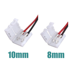 10mm 2pin Solderless Connector Cable for 5050 Single Color LED Strip Light pictures & photos