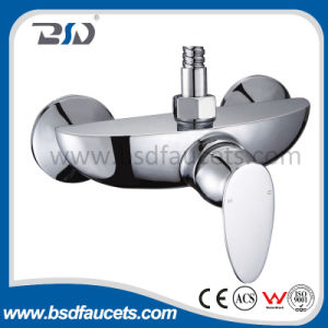 Brass Chrome Single Handle Polished Surface Bathroom Basin Mixer Faucet pictures & photos