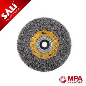 High Quality Industry Level Crimped Circular Wire Brush for Cleaning pictures & photos