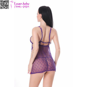 New Design Ladies Sexy Sleepwear L28045-6 pictures & photos