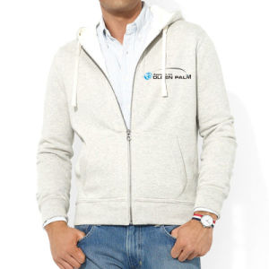 Wholesale Full Zipper Men Hoodies with Printing pictures & photos
