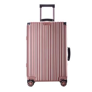 """Max Medium Trip Black 4 Wheeled 26"""" Suitcase pictures & photos"""