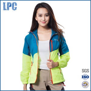 Women Windbreaker Sport Lightweight Jakcets pictures & photos