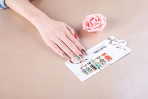 Beauty Colorful Temporary Water Transfer Nail Sticker Art Nail Sticker pictures & photos