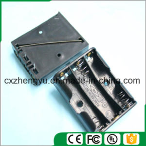 4AA Battery Holder with Contact Pin pictures & photos