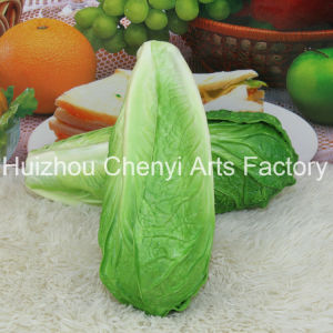 Green Artificial Vegetable PU Food Model pictures & photos