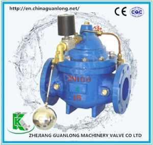 Solenoid Remote Control Float Ball Water Level Control Valve (GL106X) pictures & photos