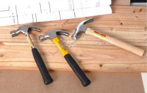 24oz High Quality Hand Tools 45# Nail Hammer Claw Hammer with Wooden Handle pictures & photos