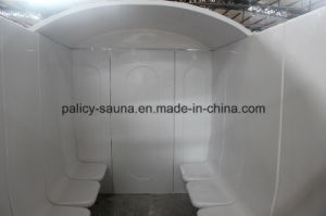 Family Using Hot Sale Acrylic Wet Steam Room 7D pictures & photos