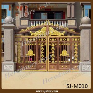 Exterior Usage Aluminum Automatic Swing Main Gate pictures & photos