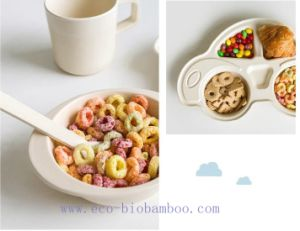 BPA Free Bamboo Fiber Dinnerware Set for Kids (BC-CS1091) pictures & photos