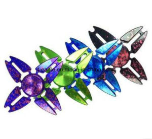 Sky Four Corners Crab Colorful Hand Spinner Gyro Four Leaf Colorful Fidget Spinner pictures & photos