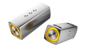 Home Cinema LED Vibration Mini Portable Bluetooth Wireless Speaker pictures & photos