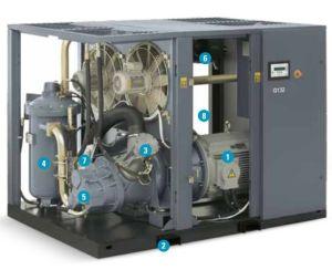 Atlas Copco Screw Air Compressor (GA37 GA45 GA55 GA75 GA90) pictures & photos