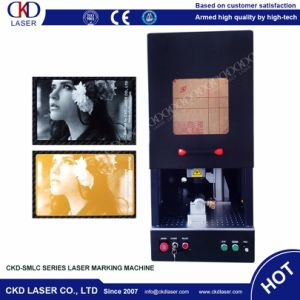 Good Quality Fiber Laser Marking Machine for Nameplate pictures & photos