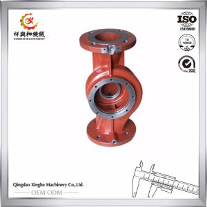 Resin Sand Casting Water Pump Casing pictures & photos