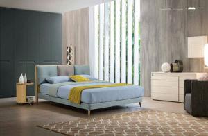 Bedroom Furniture New Elegant Design Modern Fabric Bed (HC859) pictures & photos