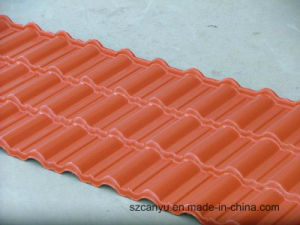 Synthetic Resin Material Sandwich Roofing Tile Made in China pictures & photos