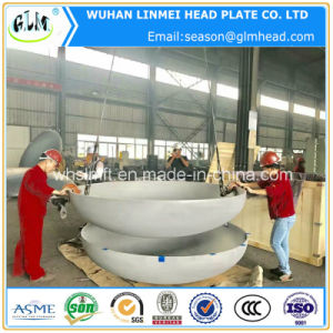 Stainless Steel Dished Elliptical Head for Boilers pictures & photos