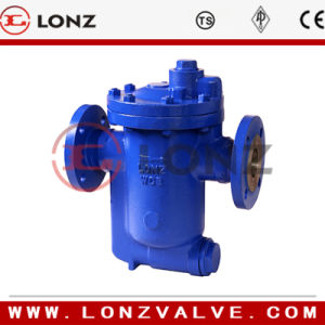 Cast Steel Inverted Bucket Steam Trap Flange End pictures & photos