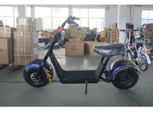 Harley Big Wheel Lithium Battery Mobility Electric Scooter (SZE1000S-4) pictures & photos