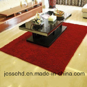 Polyester Hot Sale Chenille Machine Washable Floor Carpet pictures & photos