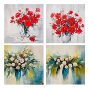 Wall Art Canvas Printing Blossom Oil Canvas Painting pictures & photos