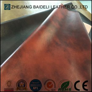 Microfiber Faux Leather for Furniture Upholstery and Home Soft Decoration pictures & photos