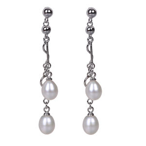 2016 Korean Simple Fashion Design Freshwater Real Pearl Earring pictures & photos