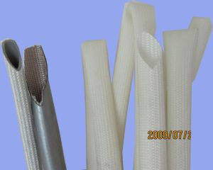 Silicone Resin Coating Fiber Glass Sleeving pictures & photos