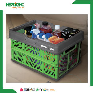 Collapsible Foldable Folding Plastic Folding Crate pictures & photos
