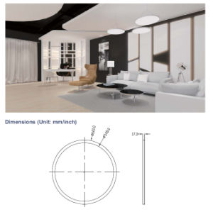 Suspended Circular LED Light LED Panel Ceiling, Commercial Round LED Pendant Lamp with 5 Years Warranty pictures & photos