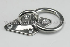 Stainless Steel Diamond Eye Plate with Ring pictures & photos